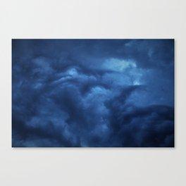 Upset Cumulonimbus Canvas Print