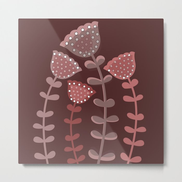 Autumn flower 2 Metal Print