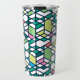City Blocks Travel Mug