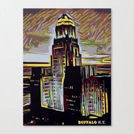 CITY TRIP Canvas Print