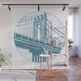 Manhattan Bridge Wall Mural