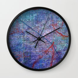 Chicago Texture Wall Clock