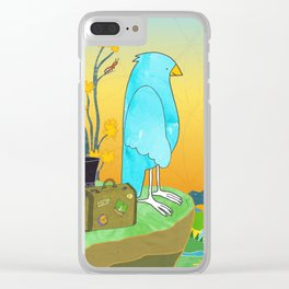 "The Journey Begins (from the book, ""You, the Magician"") Clear iPhone Case"