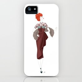 The Anniversary Dress iPhone Case