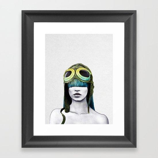 Kate As Amelia Framed Art Print