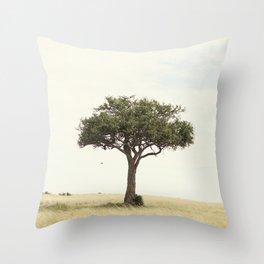 tree hugger::kenya Throw Pillow