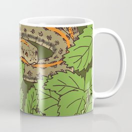 Snake & Strawberries Coffee Mug