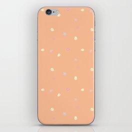 Hearts, stars, and skulls! iPhone Skin