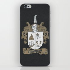Champion Crest iPhone & iPod Skin