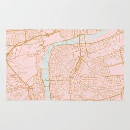Prague map Rug