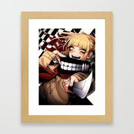 Himiko Toga - Blood & Checkers Framed Art Print