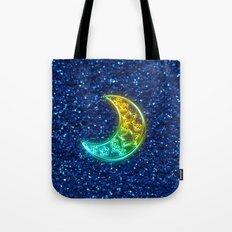 Moon Night Tote Bag