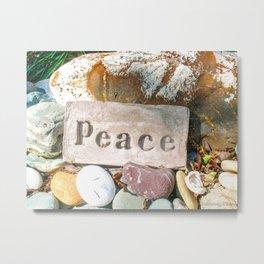 Peace by Mandy Ramsey Metal Print