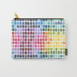 Watercolor Swatches Carry-All Pouch