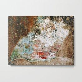 Brick by Brick Metal Print