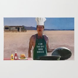 Heisenburgers - Walter White - Breaking Bad Rug