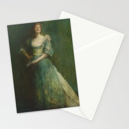 Thomas Wilmer Dewing - Comedia Stationery Cards