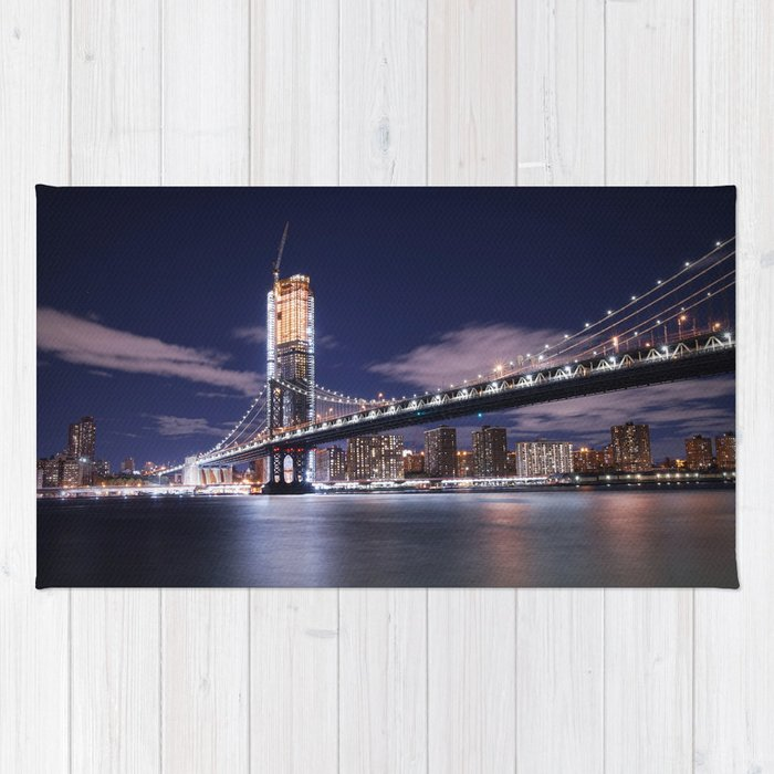 New York City at Night Rug