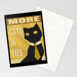 Cats in Ties - PSA Stationery Cards