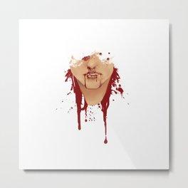 awful people bleed awful blood Metal Print