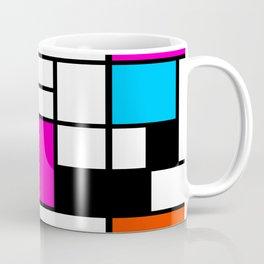 Mondrian Pink Coffee Mug