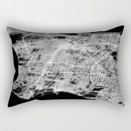 Los Angeles map Rectangular Pillow