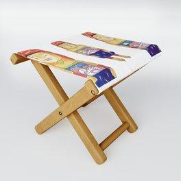 Guna Wood Dolls Folding Stool