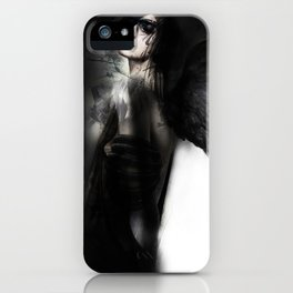 Dark Angel Girl iPhone Case