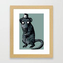 Mr. Ratity Framed Art Print