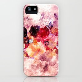 Colorful Minimalist Art / Abstract Painting iPhone Case