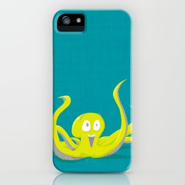 I Am An Octopus! iPhone Case