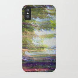Sun shower in the Fairy Forest iPhone Case
