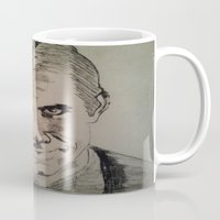 psycho Mugs featuring Psycho by Paintings That Pop