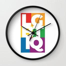 LGBTIQ+ PRIDE COMMUNITY Wall Clock