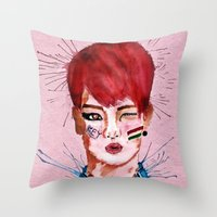 key Throw Pillows featuring Key by Isaacson1974