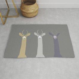 Triple Deers Rug