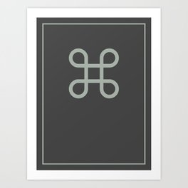Command Bowen Knot Art Print