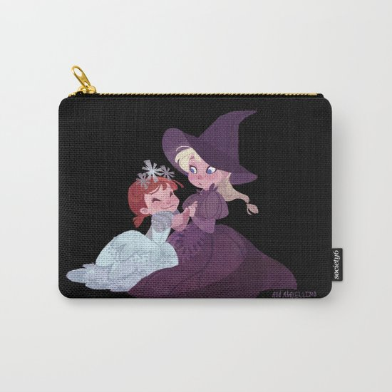 Witch Sisters Carry-All Pouch