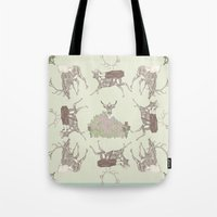golf Tote Bags featuring Golf by Ellie Price