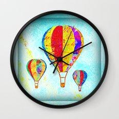 Beautiful Balloons Mosaic-Look Wall Clock