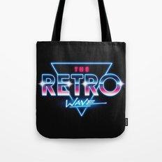 The Retro Wave Tote Bag