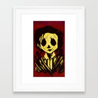edward scissorhands Framed Art Prints featuring Edward Scissorhands by Jide
