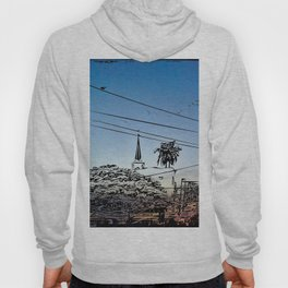 over smal trown the sunset Hoody