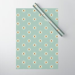 Yellow Eye Wrapping Paper