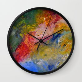"""Colorful World"" Wall Clock"