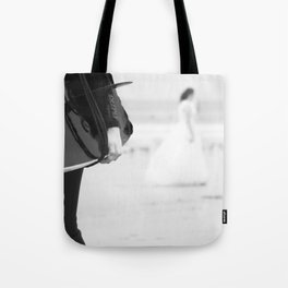 catch a wave and love Tote Bag