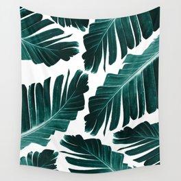 Tropical Banana Leaves Dream #1 #foliage #decor #art #society6 Wall Tapestry
