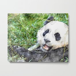 That's Some Good Bamboo Metal Print