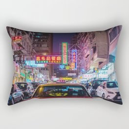 Hong Kong Taxi Rectangular Pillow