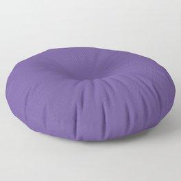 Solid Ultra Violet pantone Floor Pillow